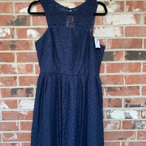 Limited dress in navy NWT